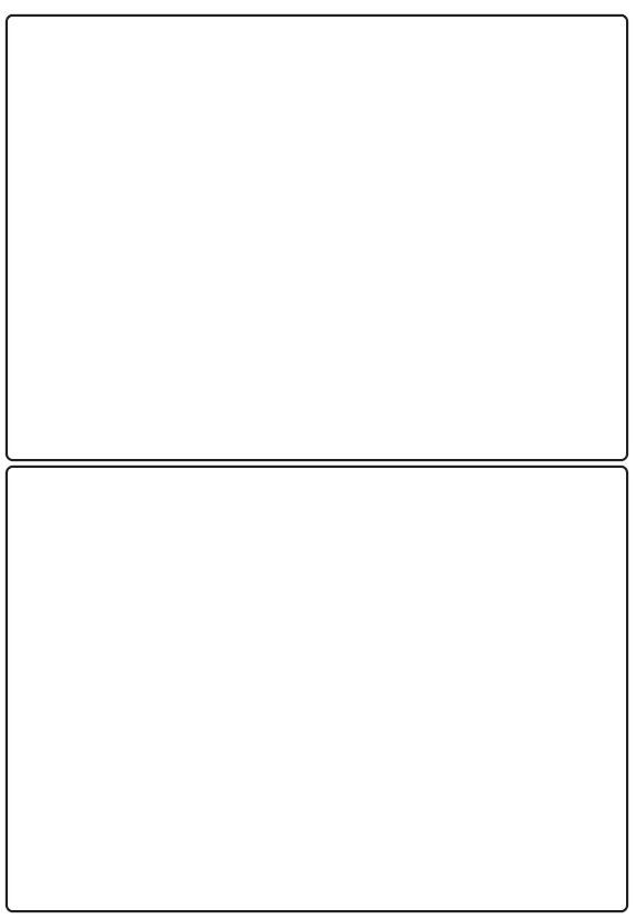 139mm x 194mm Inkjet & Laser Printer A4 Sticker Sheet Labels