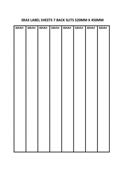 SRA3 LABEL SHEETS