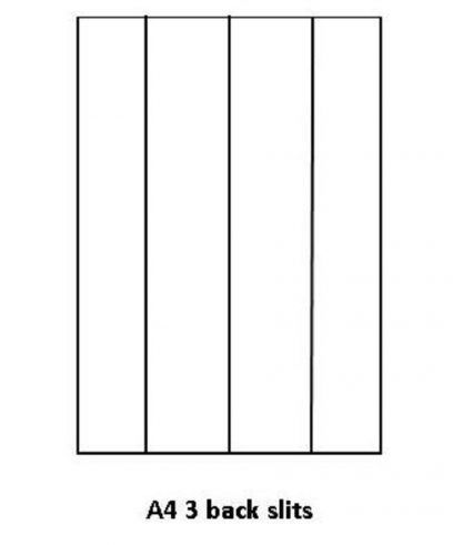 KA4 THREE BACK SLITS R101