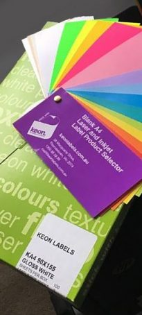 Blank Printing Labels On Sheets | Inkjet & Laser Printer A4